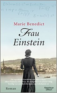 Marie Benedict: Frau Einstein Buchcover
